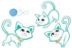 коты и кошки раскраски антистресс