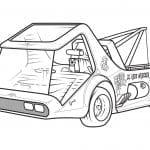 машинки для мальчиков рисунки А4 раскраски