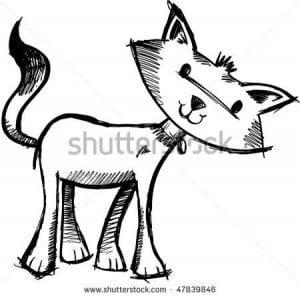 милые кошки раскраски
