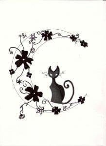 про кошек распечатать раскраска