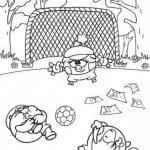 раскраски для малышей смешарики