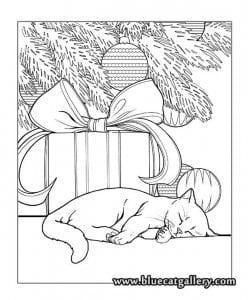 раскраски кошек для девочек бесплатно