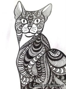 раскраски кошки онлайн бесплатно
