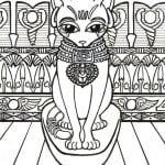 раскраски коты и кошки