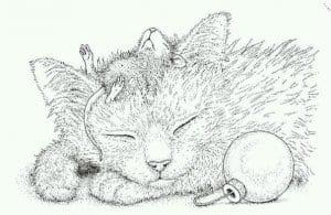 раскраски с кошками распечатать бесплатно новые А4