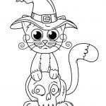 самых маленьких кошка раскраски для
