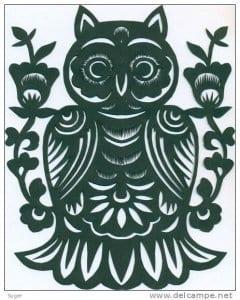 сова раскраска (275)