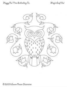 сова раскраска (281)