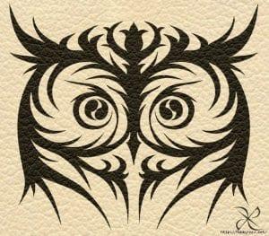 сова раскраска (283)
