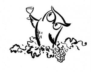 сова раскраска (365)