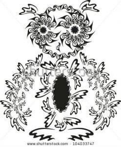 сова раскраска (373)