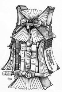 сова раскраска (511)