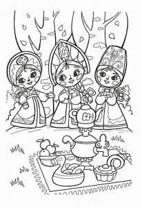 vovka-v-tridevjatom-carstve-raskraska-206x300 Вовка в Тридевятом царстве