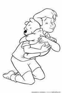 А4 бесплатно пух и его друзья раскраска дисней винни