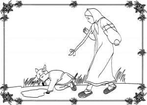герои русских сказок раскраска (10)