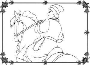 герои русских сказок раскраска (12)