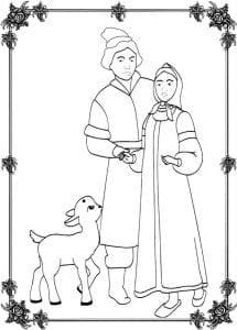 герои русских сказок раскраска (13)