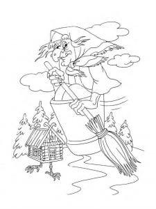 герои русских сказок раскраска (24)