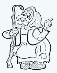 герои русских сказок раскраска (26)