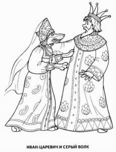 герои русских сказок раскраска (29)