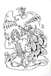 герои русских сказок раскраска (48)
