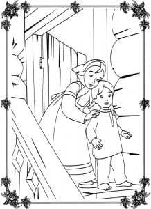 герои русских сказок раскраска (5)