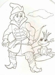 герои русских сказок раскраска (50)