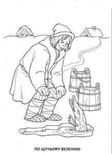 герои русских сказок раскраска (51)