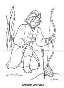 герои русских сказок раскраска (57)