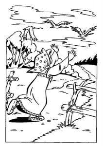герои русских сказок раскраска (59)