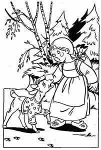 герои русских сказок раскраска (69)