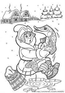 герои русских сказок раскраска (79)