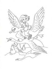 герои русских сказок раскраска (8)