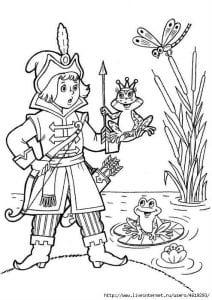 герои русских сказок раскраска (85)