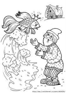 герои русских сказок раскраска (88)