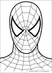 детские раскраски человек паук распечатать