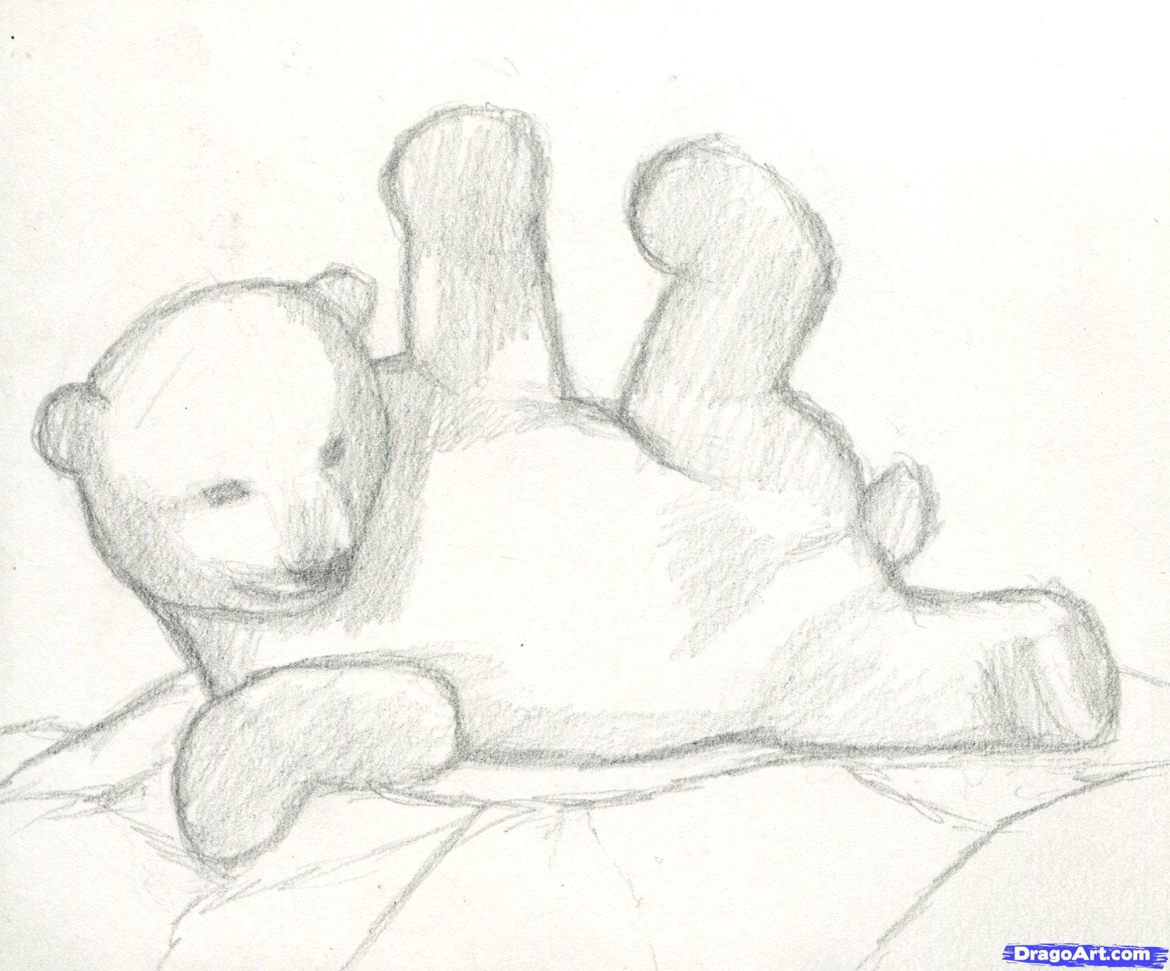4 Как нарисовать полярного медведя