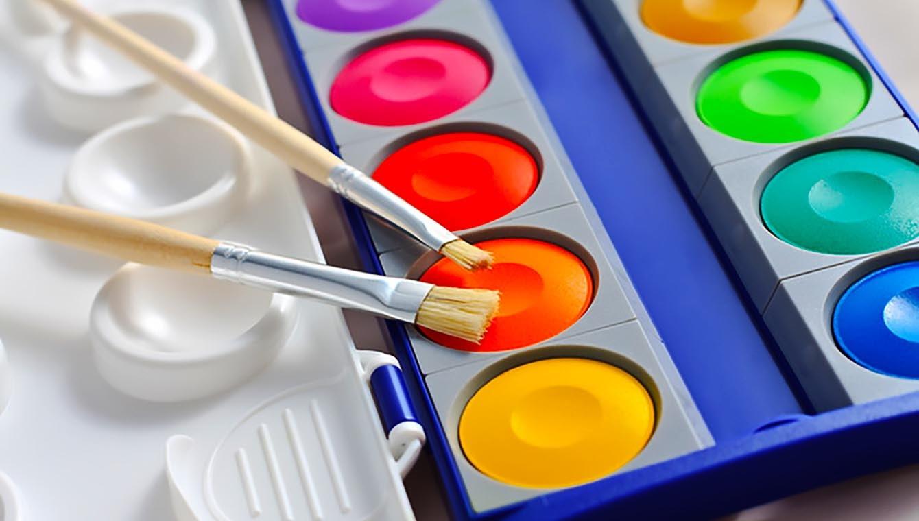 Краски при писании этюдов с натуры