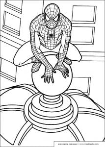 -раскраску-человек-паук-214x300 Человек-паук