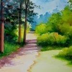 Выбор сюжета для пейзажа