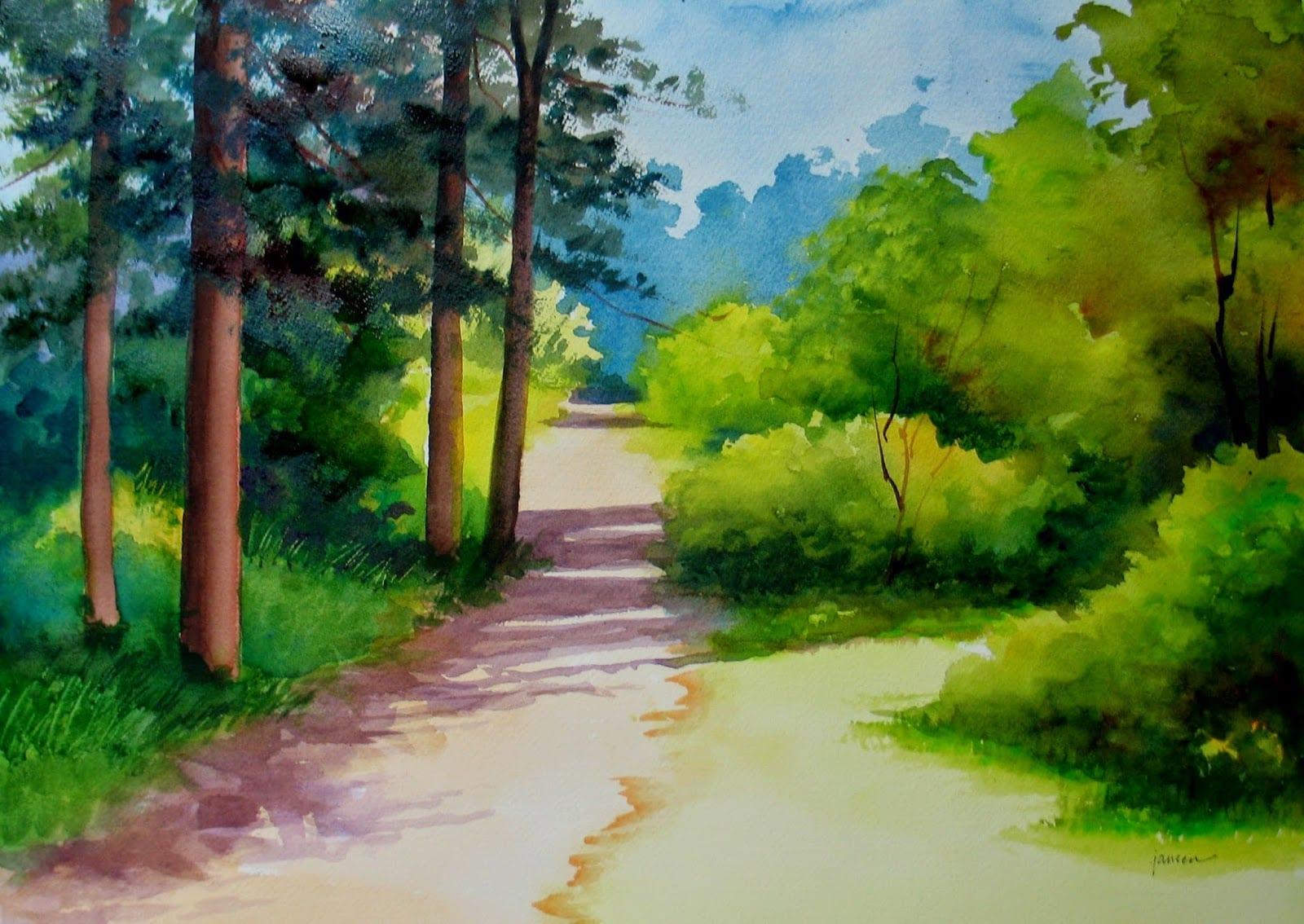 -2 Выбор сюжета для пейзажа