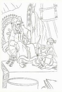 раскраска Князь Владимир мультфильм (11)