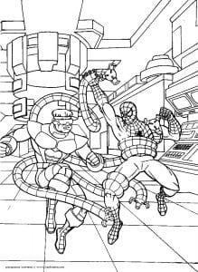 -человек-паук-распечатать-бесплатно-формат-а4-219x300 Человек-паук
