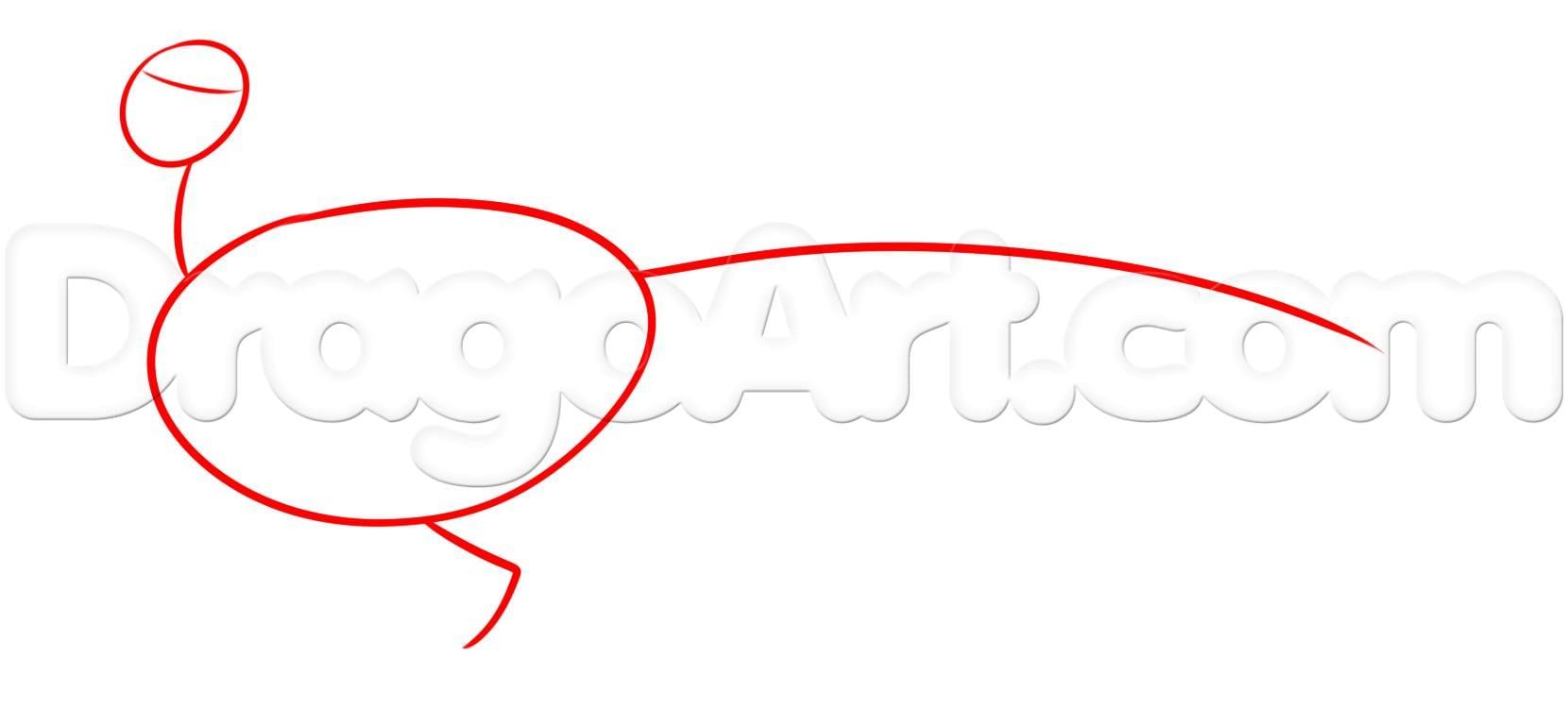 как нарисовать фазана