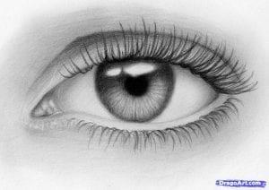 10-1-300x212 Как нарисовать глаза человека карандашом поэтапно