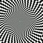 оптические иллюзии черно-белые