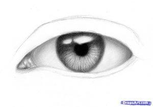 8-1-300x210 Как нарисовать глаза человека карандашом поэтапно