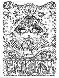 art-joga-raskraska-antistress-raspechatat-4-230x300 Русалки и йоги