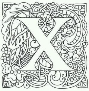 бесплатно английский алфавит большие и маленькие буквы раскраска