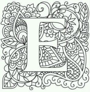 бесплатно английский алфавит для детей раскраска